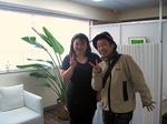FMヨコハマレポーターの穂積さんと田村